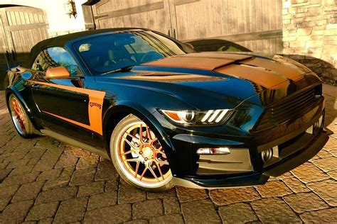 mustang modified 2017 you could win a 2017 mustang convertible from goodguys