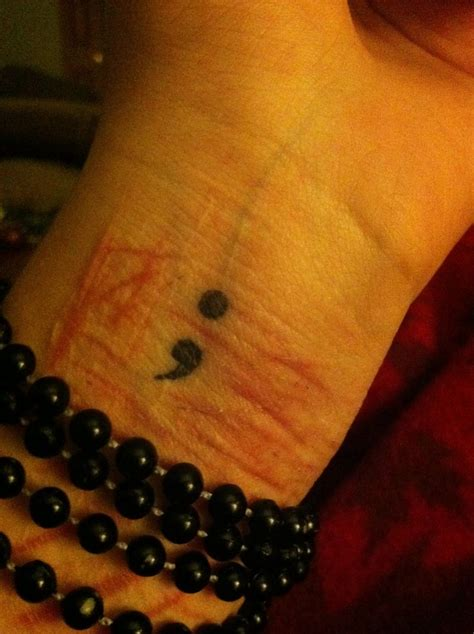 semicolon tattoo meaning self harm 17 best images about semicolon on semicolon