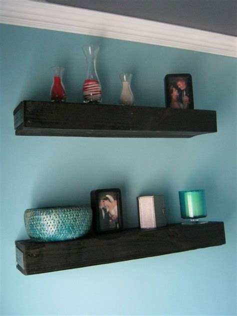 diy floating bookshelves diy floating shelves