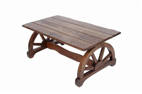 wagon wheel coffee table oak wagon wheel coffee table measures 40 quot l x 22 quot w