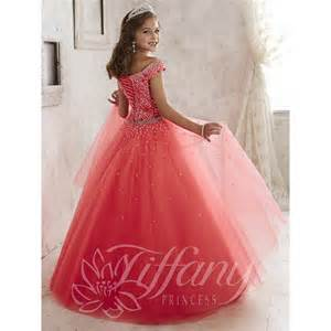 tiffany princess 13458 pageant dress madamebridal com