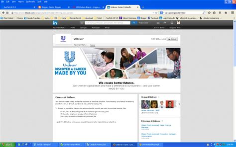 email hrd unilever cara memposting job pada linkedin young hrd indonesia