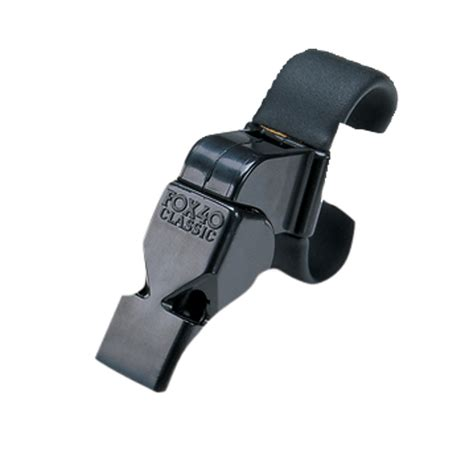 Fox40 Peluit Finger Grip fox 40 black plastic finger grip whistle longstreth