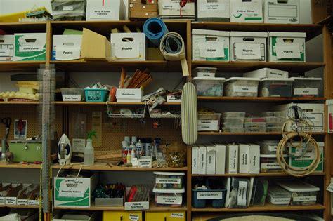 prop room organizing a props shop prop agenda