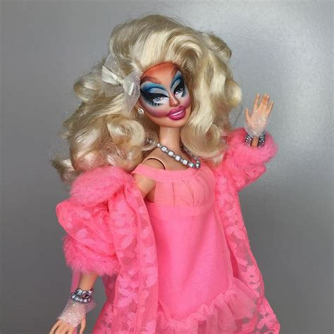 turn into doll this artist turned dolls into drag from