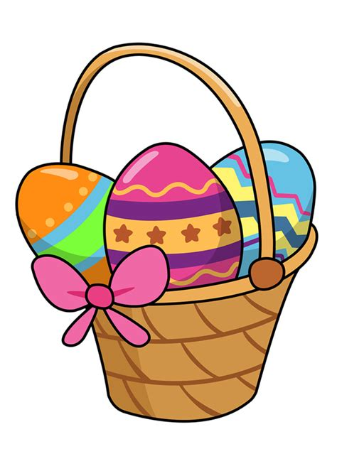 easter clipart easter basket4