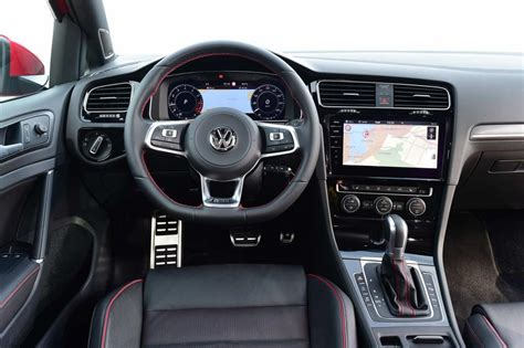 volkswagen golf 2017 interior volkswagen golf gti facelift 2017 review pictures