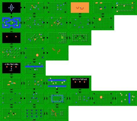 legend of zelda map level 5 bowser s blog 187 9 zelda nes facts trivia and random info
