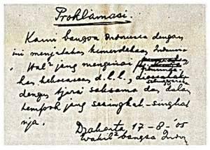 Teks Proklamasi File Proklamasi Klad Jpg Wikimedia Commons