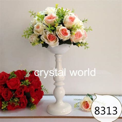 Boni Flowers 8080 2 Best Quality mental flower stands wedding table centerpieces for weddings decoration1 flower stand