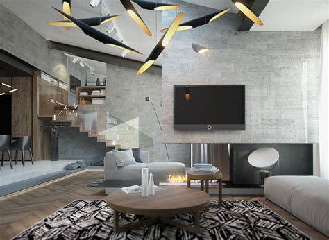 living room lighting inspiration homes with inspiring wall treatments and designer lighting