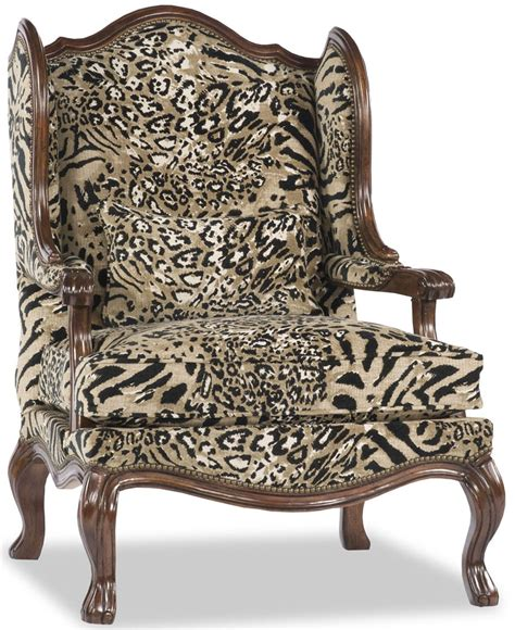 Animal Print Armchair by Animal Print Arm Chair