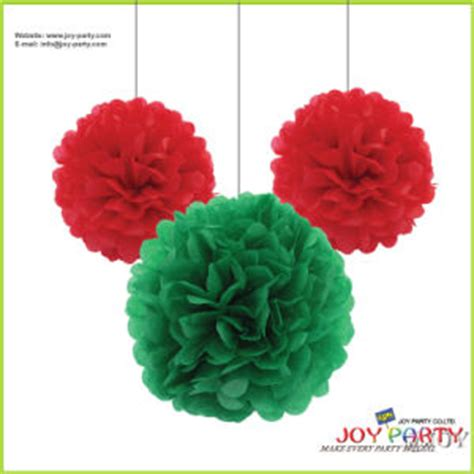 christmas decorations with tissue paper china tissue paper flower pom poms garlands for decoration china pom poms