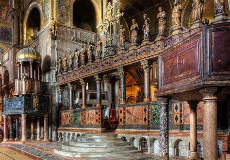 basilica di san marco interno basilica di san marco venezia storia mosaici entrata