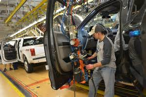 Ford Dearborn Plant 2015 Ford F 150 Production Begins At The Dearborn Truck