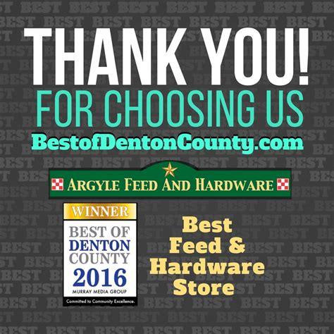 we won best of denton county 2016 argyle feed store