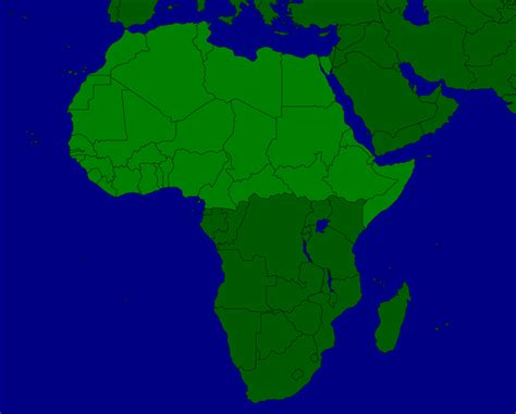 africa map with equator africa of the equator countries map quiz
