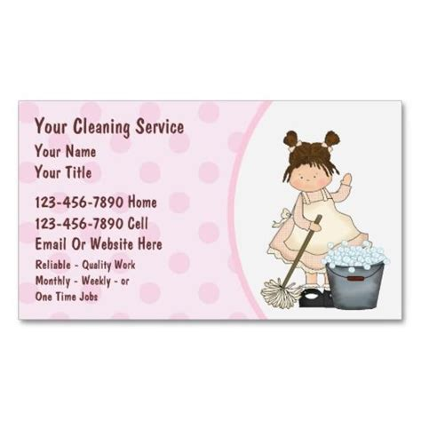 cleaning card template house cleaning business cards cleaning business cards