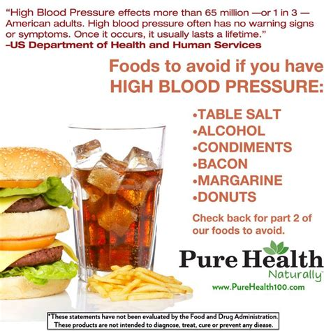 7 Foods To Avoid When Youre by High Blood Pressure Or Hypertension Is A Condition That