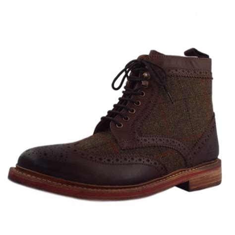 chatham marine orkney brown s lace up brogue boot