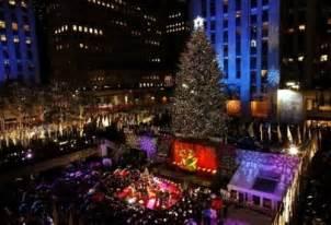 New York Tree Lighting Rockefeller Center Christmas Tree Lighting 2017 Best