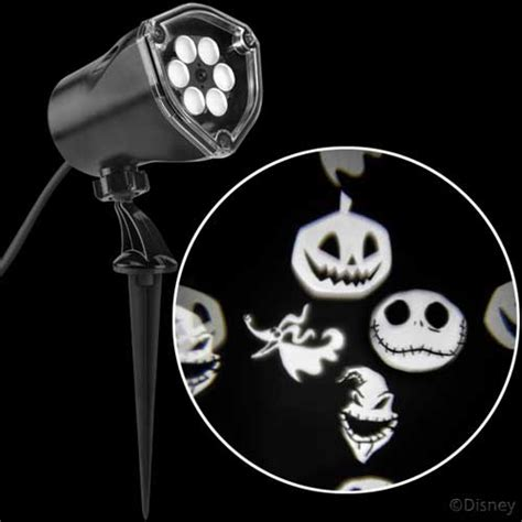 nightmare before christmas themed projection for your home