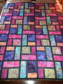 Stained Glass Patchwork Patterns - wedding gift stained glass quilt