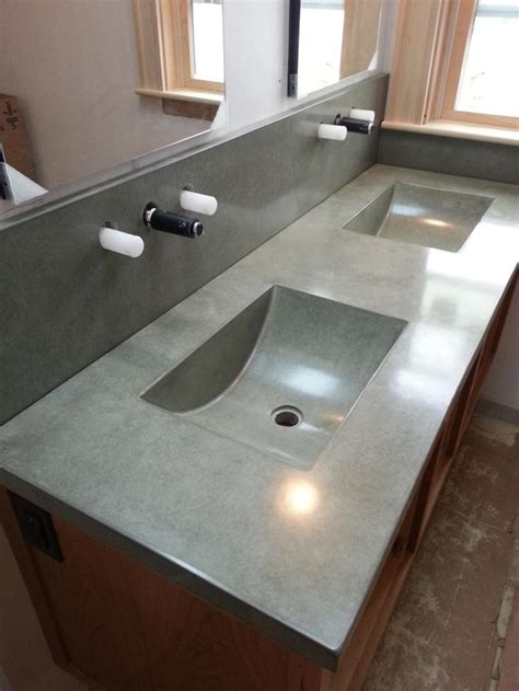 concrete countertops bathroom 17 best images about cement on pinterest overlays