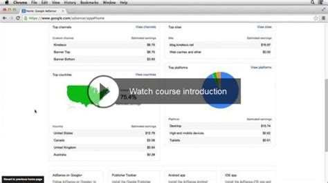 google adsense tutorial for beginners 2014 download lynda up and running with google adsense