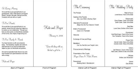 layout of wedding reception programs wedding programs layout wedding 24th august 2013 pinterest