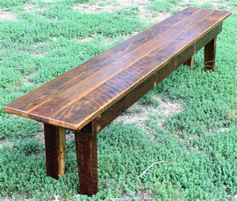 cheap picnic benches 25 best ideas about rustic dining benches on pinterest