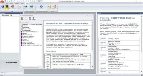 solidworks tutorial getting started solidworks electrical getting started guide and tutorials
