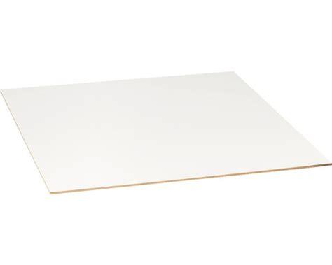 dekor holzplatten d 252 nn mdf platte einseitig wei 223 3x1220x2440 mm bei hornbach
