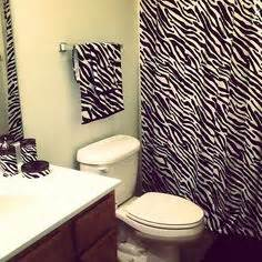 zebra bathroom ideas zebra print bathroom ideas home decorating ideas