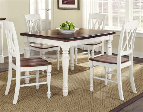 white kitchen table the country kitchen table and chairs the best option for