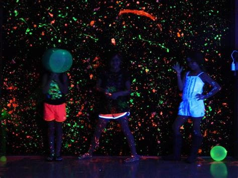 glow in the paint events black lights and 9th birthday on