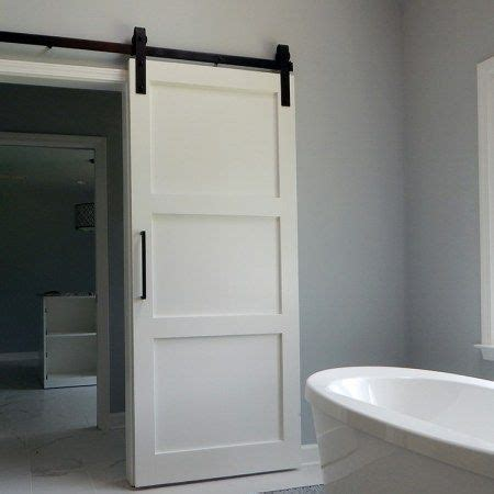 Barn Door Shower Door Best 25 Bathroom Barn Door Ideas On