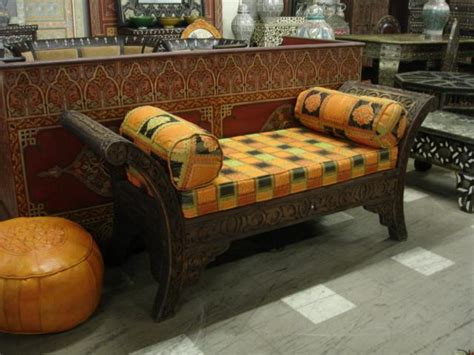 arabic bench cedar bench moorish outdoor and indoor bench sofa