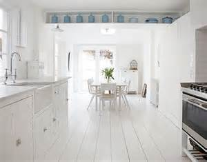 painted white floorboards shabby chic style 2012 i