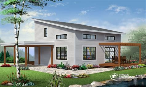 inexpensive modern homes affordable modern house prefabricated houses chalet style