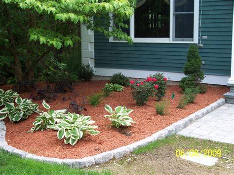 Landscape Edging Using Wood Garden Sweet Garden Decorating Design Ideas Using Pebble