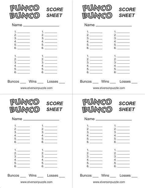 free bunco scorecard template bunco score sheets template beauteous