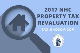 New Hanover County Property Tax Records 2017 Revaluation Tax Department New Hanover County Carolina