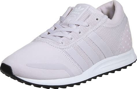 adidas los angeles  shoes pink white
