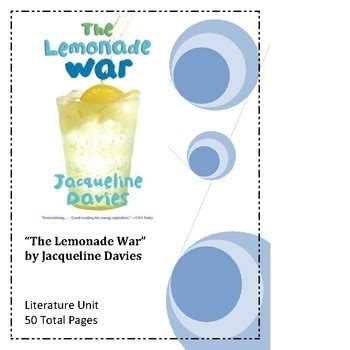 the lemonade war book report 17 best images about literature units on