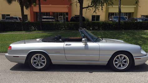 1991 Alfa Romeo by 1991 Alfa Romeo Spider Veloce T36 Louisville 2016