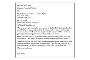 Cease And Desist Letter Template For Debt Collectors by Letter Debt Collection Docoments Ojazlink