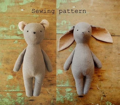 Handmade Soft Toys Free Patterns - best 25 handmade soft toys ideas on handmade