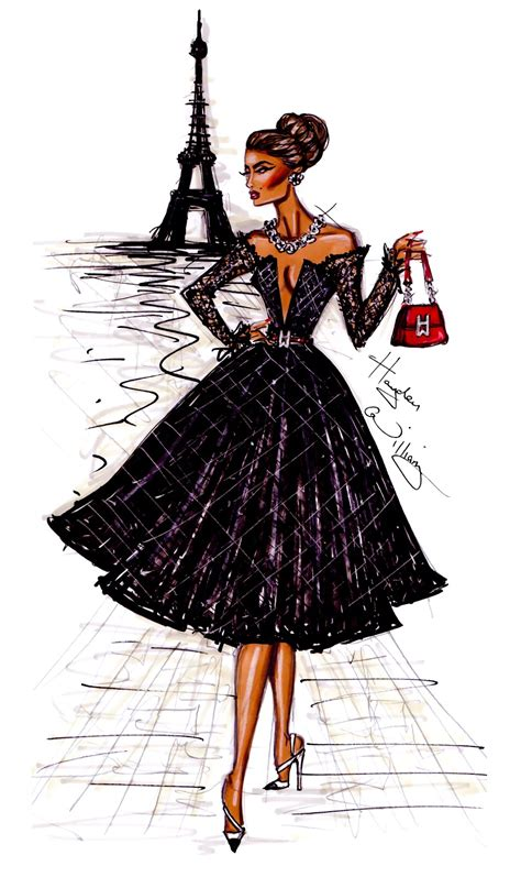 fashion illustration dress hayden william fashion illustration newgirllook