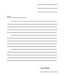 writing letters on pinterest friendly letter letter